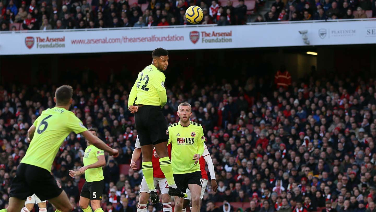 Arsenal 1-1 Blades - report