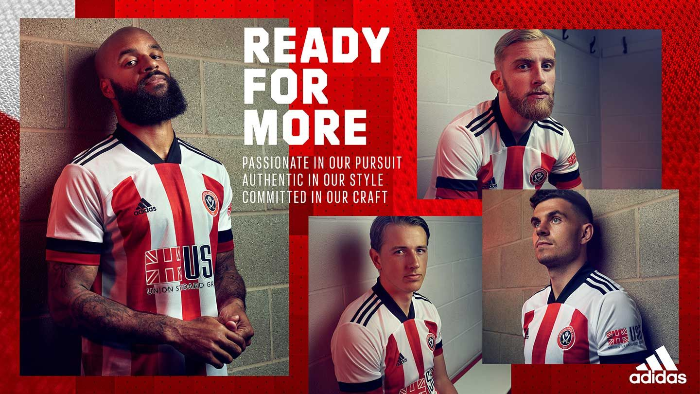 Sheffield United 2020/21 Home Kit - available now