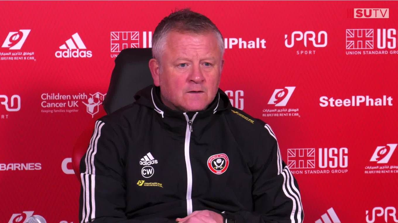 Chris Wilder's full Bournemouth pre-match