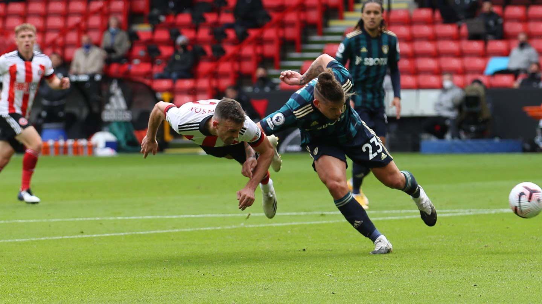 Blades 0-1 Leeds - report