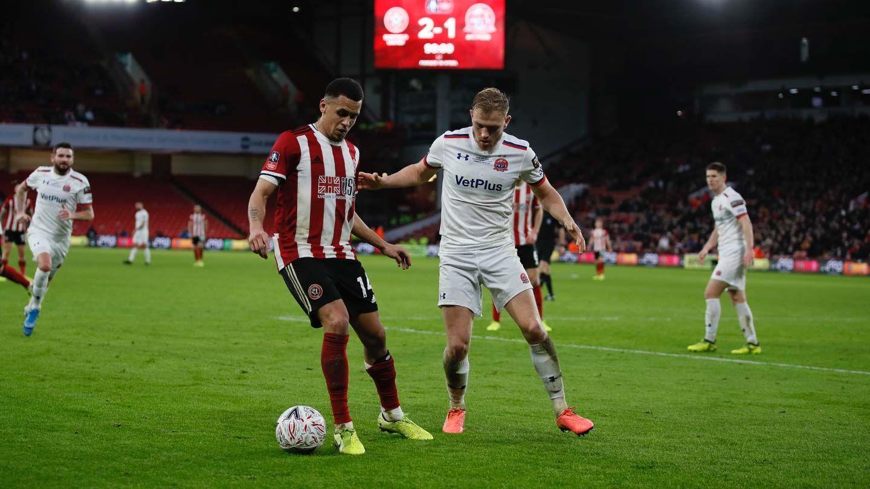 Blades 2-1 AFC Fylde - report