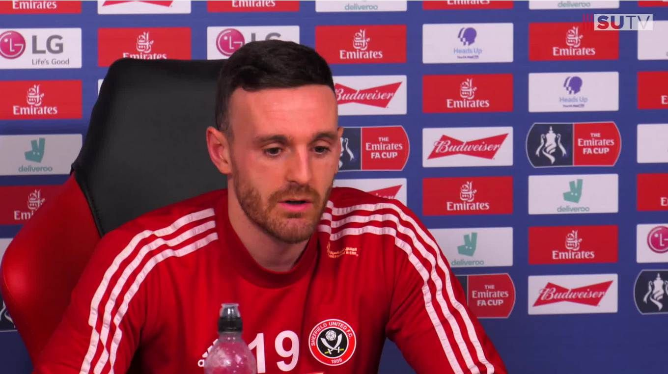 Jack Robinson's pre-match press conference