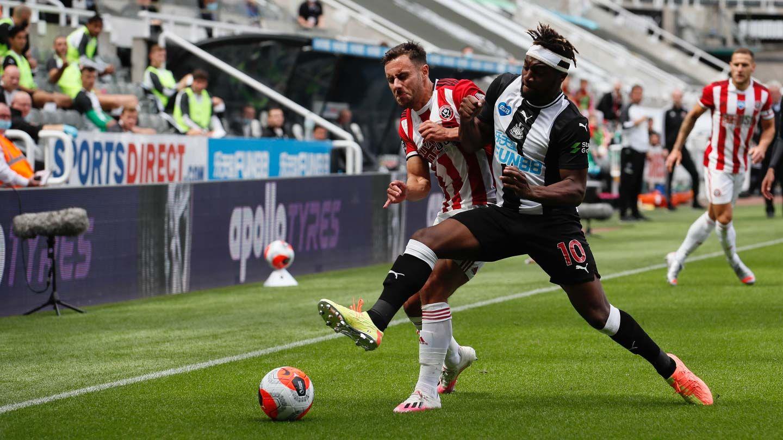 Newcastle 3-0 Blades - report