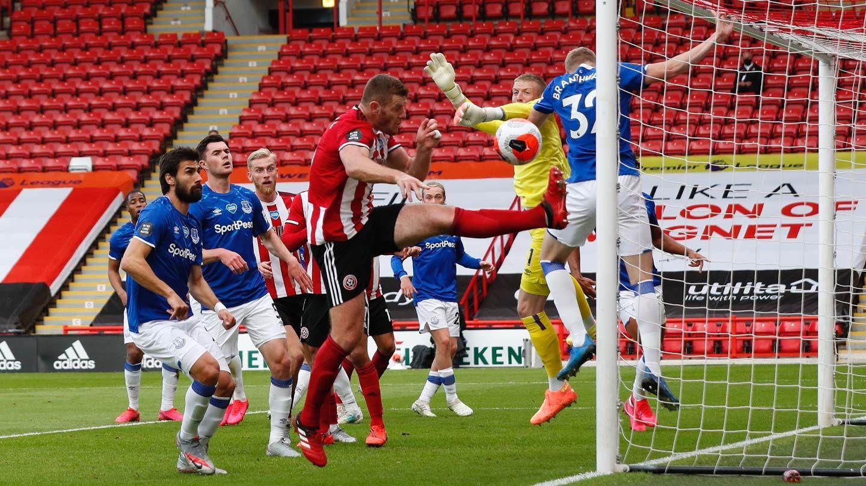 Blades 0-1 Everton - report