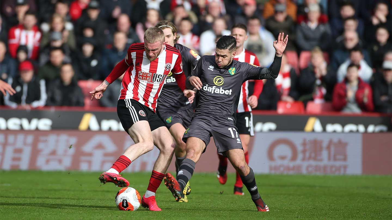 Blades 1-0 Norwich - report