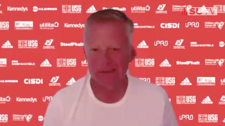 Chris Wilder's full Burnley pre-match