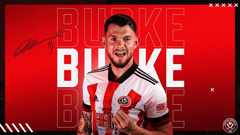 Blades swoop for Burke