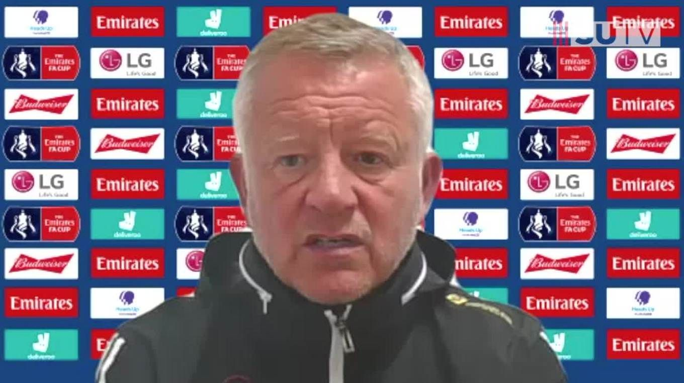 Chris Wilder's full Arsenal post-match