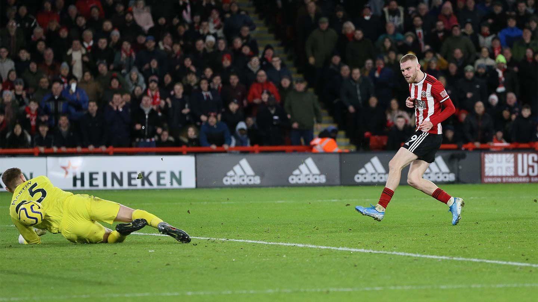 Blades 1-0 West Ham - report