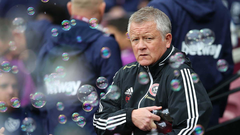 Wilder on West Ham clash