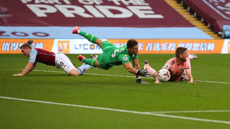 Villa 1-0 Blades - full match replay