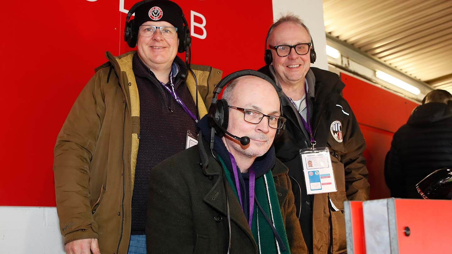 Level Playing Field - Meet the Sheffield Sports Commentaries team