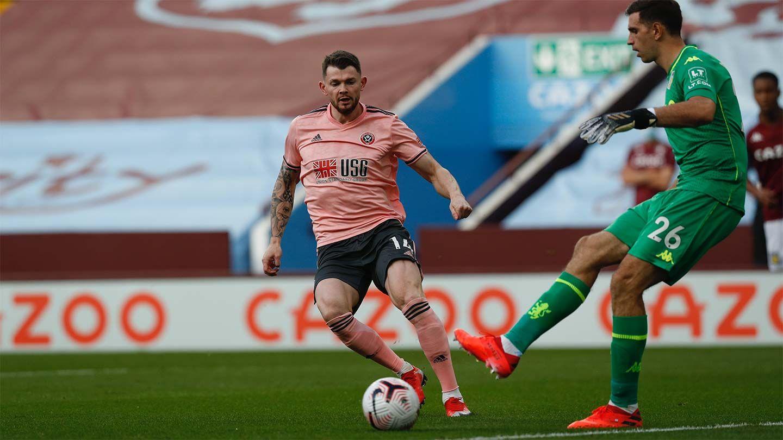 Villa 1-0 Blades - report