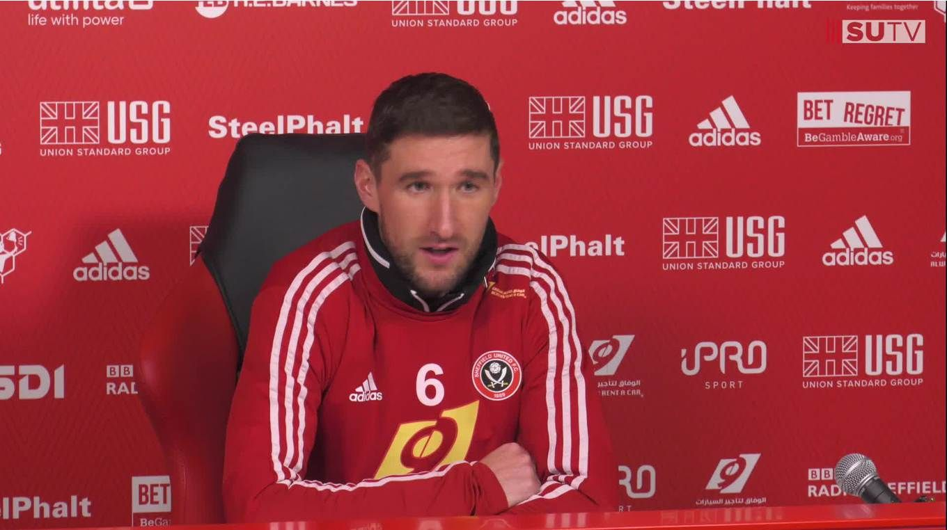 Chris Basham's pre-match press conference