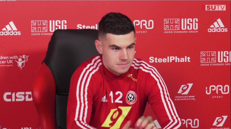 John Egan's pre-match press conference